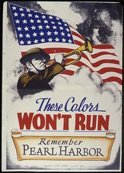 These Colors Won't Run. Remember Pearl Harbor - NARA - 534303