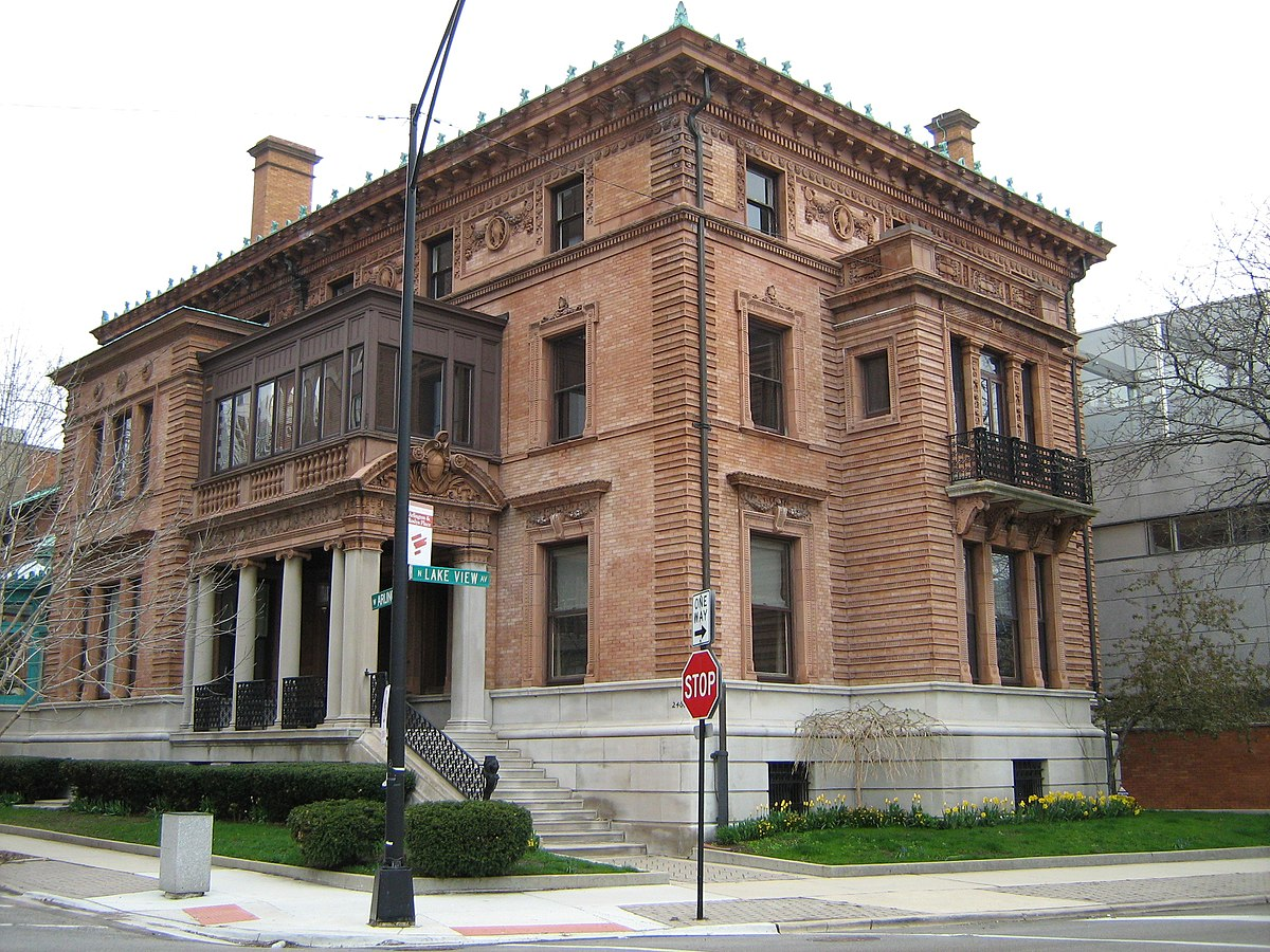 Theurer Wrigley House Wikipedia