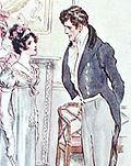 Frederick Wentworth et Anne Elliot en 1815 (C. E. Brock, 1909)