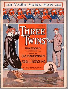 Three Twins sheet music cover (1908).JPEG