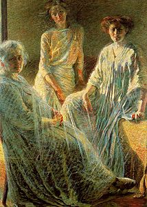 Three Women by Umberto Boccioni, 1910.jpg