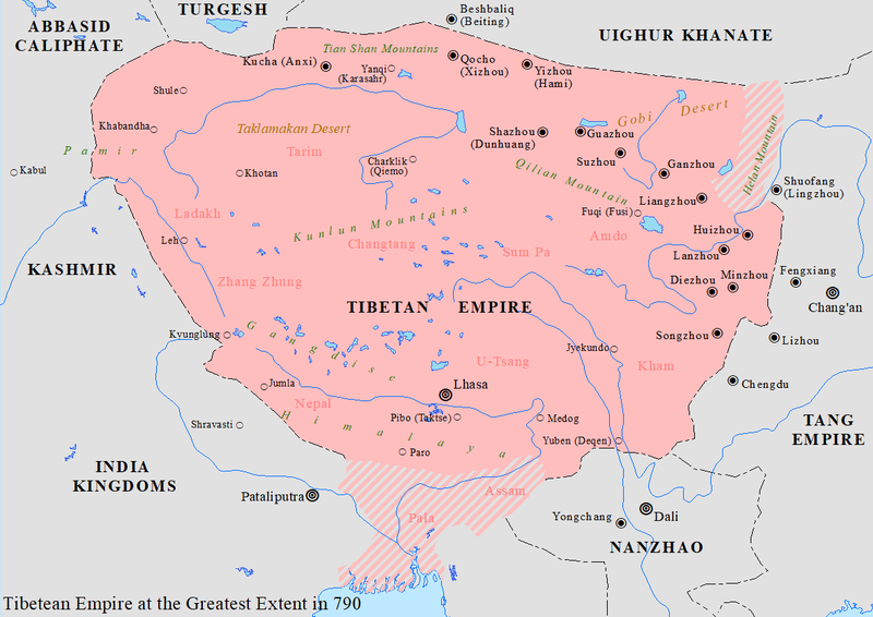 Tibetan Empire - Wikiwand on