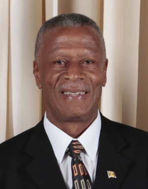 Grenadian general election, 2008 - Tillman Thomas