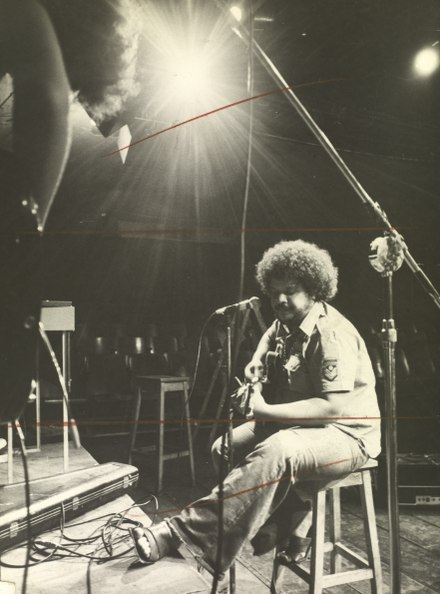 Tim Maia, 1972. National Archives of Brazil. Tim Maia no Teatro Opiniao.tif
