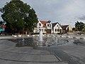 Time spiral fountain, Dozsa Square, 2016 Dunakeszi.jpg