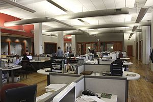 Chattanooga Times Free Press - The Times Free Press newsroom.