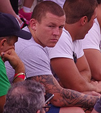 Todd Carney - Carney with the Cronulla-Sutherland Sharks during his time at the club.