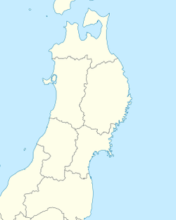 Tendō is located in Tohoku, Japan