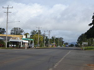 Tolga, Queensland - Main street of Tolga