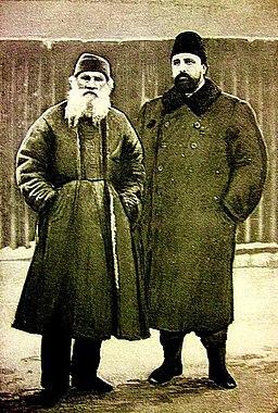 Tolstoy and Chertkov