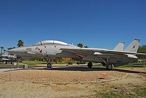Palm Springs Air Museum - Tomcat at Palm Springs Air Museum