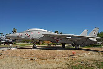 Palm Springs Air Museum - Tomcat at Palm Springs Air Museum