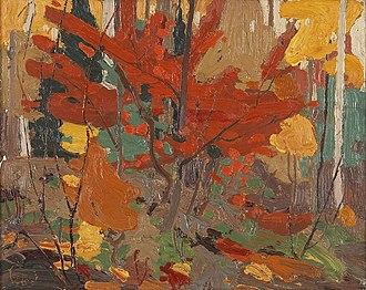 Glenbow Museum - Image: Tom Thomson Autumn fall 1916