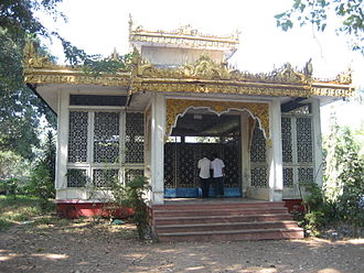 U Thant - Thant's tomb, Shwedagon Pagoda Road, Rangoon.