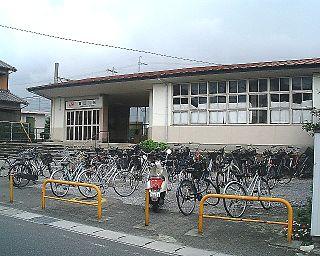 Tomidahama Station Railway station in Yokkaichi, Mie Prefecture, Japan