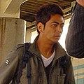 Tomohiro Sekiguchi 20050419 in Umi-Shibaura Station.jpg