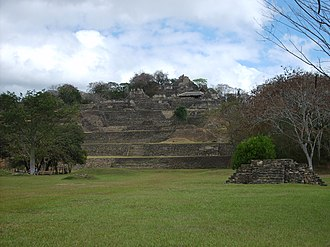 Toniná - The Acropolis of Toniná, occupying seven terraces upon a hillside.