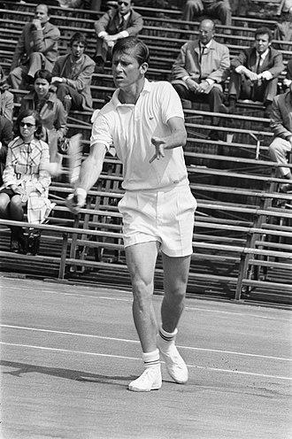 Dennis Ralston - Image: Top Tennis Toernooi 1969 in Amsterdam D. Ralston , aktie, Bestanddeelnr 922 4467