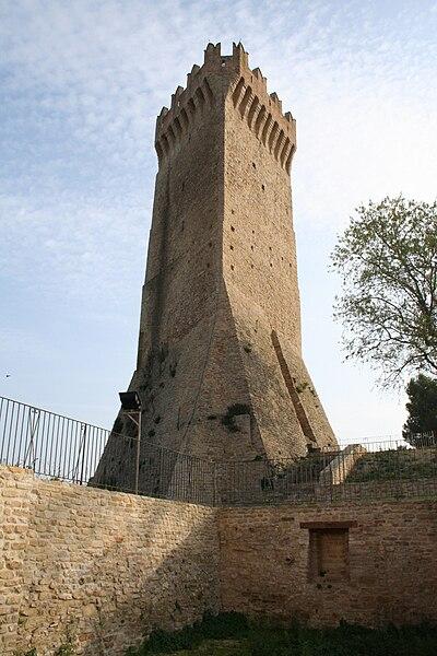 La Torre di Montegualtieri: Foto tratta da Wikipedia