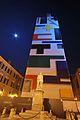 Torre la Ghirlandina in restauro con copertura di Palladino.JPG
