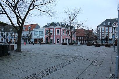 Sådan kommer du til Torvet Nykøbing Falster med offentlig transport – Om stedet