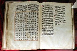 Rabanus Maurus - In Honorem Sanctae Crucis, 13th century, Biblioteca Medicea Laurenziana, Florence