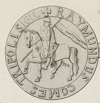 Raymond III, Count of Tripoli - His seal