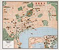 Tourist map of Baku - (Baku, panoramnyĭ plan 1970g.). LOC 86693229.jpg