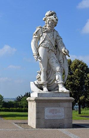 Anne Hilarion de Tourville - Image: Tourville Statue 08