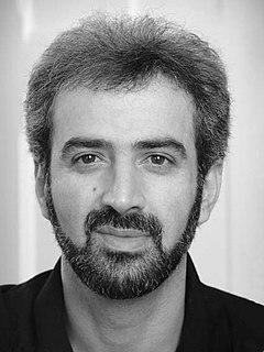 Iranian calligrapher
