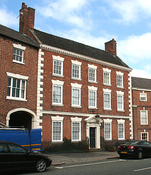 Townwell House, Nantwich - Townwell House, 52 Welsh Row, Nantwich