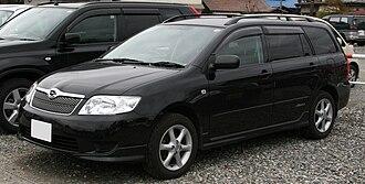 Toyota Corolla (E120) - Toyota Corolla Fielder (facelift)