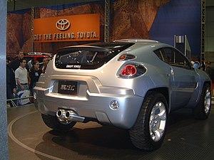 Toyota Concept Vehicles, 2000u201309   Image: Toyota RSC LA Autoshow 2002 (