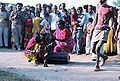 Traditional welcome performance, Mitral, Kheda district, Gujarat.jpg