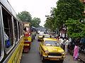 Traffic Jam - Beleghata - Kolkata 2005-08-08 8080040.JPG
