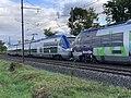 Train TER SNCF Class B 81500 Ligne ferroviaire Mâcon Ambérieu Route Prales Perrex 4.jpg