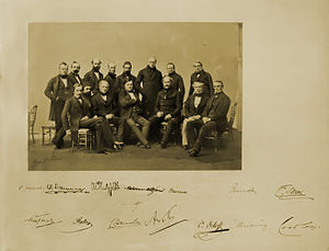 Treaty of Paris (1856) - Participants of the Congress of Paris, 1856