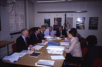 Treasure Valuation Committee - The Treasure Valuation Committee at work.