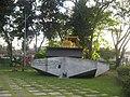 Tren Blindado memorial in Santa Clara (Bulldozer).jpg