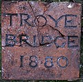 Troye Bridge Name Plaque - geograph.org.uk - 1094102.jpg