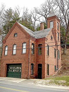 Tunxis Hose Firehouse United States historic place