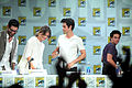 Tyler Hoechlin, Shelley Hennig, Dylan O'Brien & Dylan Sprayberry (14770838162).jpg