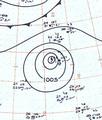 Typhoon Dot analysis 11 Nov 1961.png
