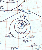 Typhoon Dot analysis 11 Nov 1961.png