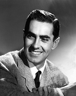 Tyrone Power American film, stage and radio actor