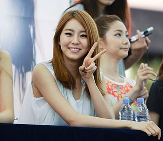 Uee - Uee at an After School fan meeting in 2012