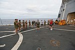 U.S. Marines PT with family members 151207-M-TJ275-322.jpg
