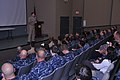 U.S. Navy Vice Adm. Michael Rogers, commander of U.S. Fleet Cyber Command and the U.S. 10th Fleet, speaks to Sailors and civilian employees with the Information Dominance Corps about cyber warfare at the afloat 120807-N-IU238-030.jpg