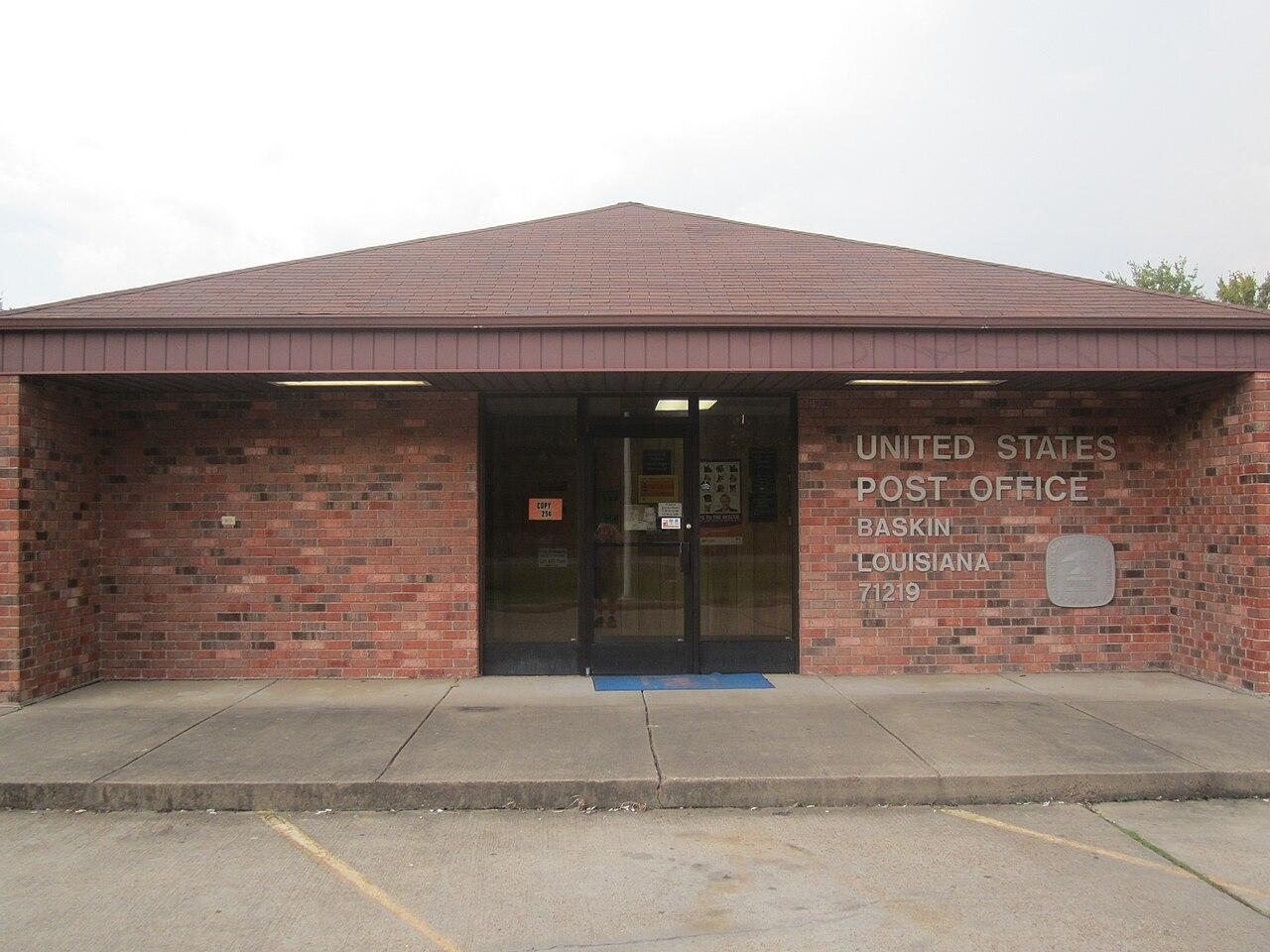 File:U.S. Post Office, Baskin, LA IMG 0343.JPG