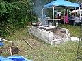 UIATF Pow Wow 2007 - grilling salmon 01A.jpg